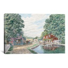 """Summertime: Morris Canal"" Canvas Wall Art by Stanton Manolakas"