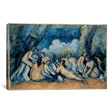 'The Bathers' by Paul Cezanne Painting Print on Canvas