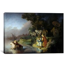 'The Abduction of Europa' by Rembrandt Painting Print on Canvas