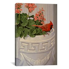 """White Planter"" Canvas Wall Art by Ron Parker"