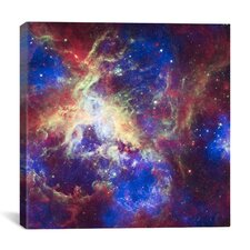 Tarantula Nebula (Spitzer Space Observatory) Canvas Wall Art