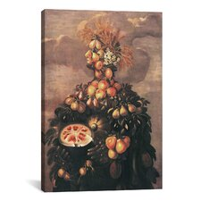 'Summer' by Giuseppe Arcimboldo Painting Print on Canvas