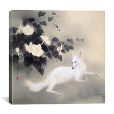 """Summer Evening"" Canvas Wall Art by Hashimoto Kansetsu"