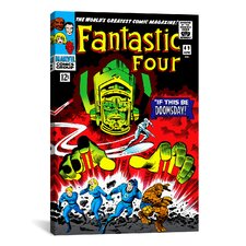 Marvel Comics Fantastic 4 Cover Issuen Graphic Art on Canvas