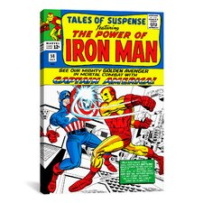 Marvel Comics Book Iron Man Issue Cover 58 Graphic Art on Canvas