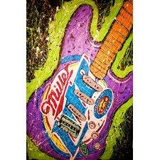 Lambert Guitar Miller Canvas Print Wall Art