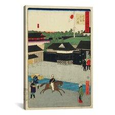 """Takanawa Igirisu Kan"" Canvas Wall Art by Hiroshige lll"