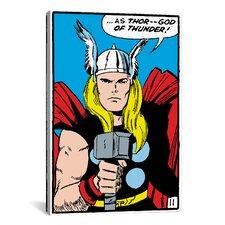 Marvel Comics Thor Panel Art B Graphic Art on Canvas