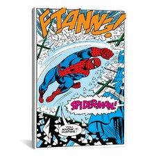 Marvel Comics Spiderman Panel B Graphic Art on Canvas