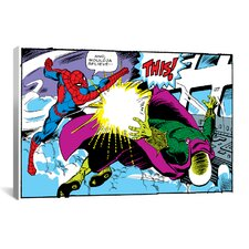 Marvel Comics Spiderman Panel C Graphic Art on Canvas