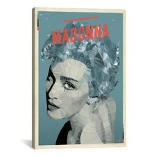 American Flat Madonna Graphic Art on Canvas