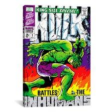 Marvel Comics Hulk (inhumans) Issue Cover Graphic Art on Canvas
