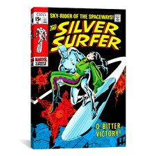 Marvel Comics Book Silver Surfer Issue Cover #11 Graphic Art on Canvas