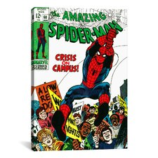 Marvel Comics Book Spider-Man Issue Cover #68 Graphic Art on Canvas