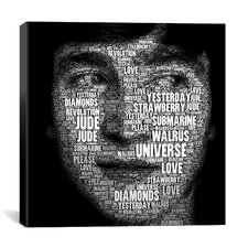 The Fab Four Songs - John by Maximilian San Graphic Art on Canvas