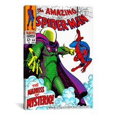 Marvel Comic Book Spider-Man Issue Cover #66 Graphic Art on Canvas