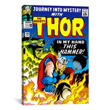 Marvel Comic Book Thor Issue Cover #120 Graphic Art on Canvas