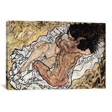 The Embrace (The Loving) Canvas Print Wall Art