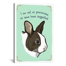 The Other Bunny Canvas Print Wall Art