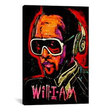 Will I Am 001 Canvas Print Wall Art