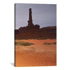 'Monument Valley Panorama #1, Part 3 of 3' by Moises Levy Photographic Print on Canvas
