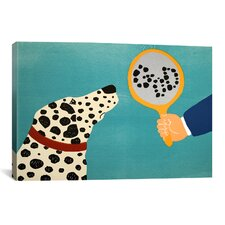Mirror Image Of Dog Canvas Wall Art by Stephen Huneck