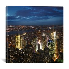 New York City Times Square Canvas Wall Art by Nina Papiorek