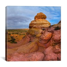 'Pink Mountain, Part 2 of 3' by Moises Levy Photographic Print on Canvas