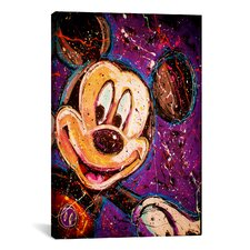 Mickey Canvas Wall Art by Rock Demarco