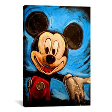 Mickey 001 Canvas Wall Art by Rock Demarco