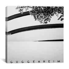 New York City Guggenheim Canvas Wall Art by Nina Papiorek