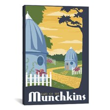 Munchkin Travel Canvas Wall Art by Steve Thomas