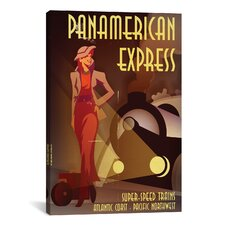 PanAmerican Express Graphic Art on Canvas