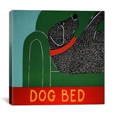 Dog Bed Canvas Print Wall Art