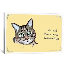 Confident Kitty Canvas Print Wall Art