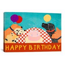 Happy Birthday Large Canvas Print Wall Art