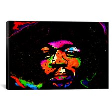 Hendrix 001 Painting Print on Canvas