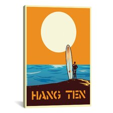 Hang Time Painting Print on Canvas