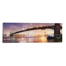 'Brooklin Bridge Pano #1' by Moises Levy Photographic Print on Canvas