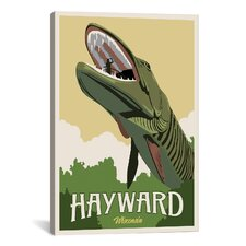 Hayward Muskie Canvas Print Wall Art