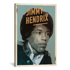 American Flat Hendrix Graphic Art on Canvas