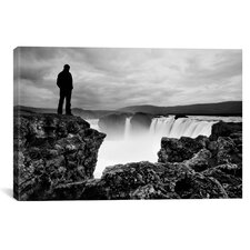 Iceland Waterfall Canvas Print Wall Art