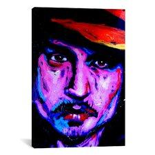 Johnny Depp Art 002 Canvas Print Wall Art