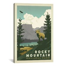 Anderson Design Group Asa National Park Rocky Mountain National Park Canvas Print Wall Art