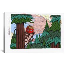 Getting Away From It All Canvas Print Wall Art