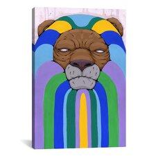 Head of the Pride Canvas Print Wall Art