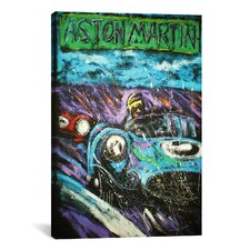 Rock Demarco Aston Racecar Canvas Print Wall Art