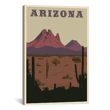 Steve Thomas Arizona Canvas Print Wall Art