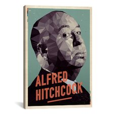 American Flat Alfred Hitchcock Graphic Art on Canvas