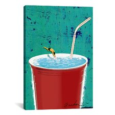 Anthony Freda Big Drink Canvas Print Wall Art